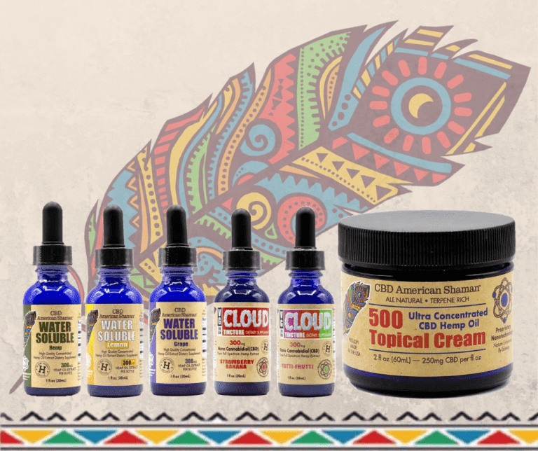 CBD American Shaman of Las Colinas Most Popular Products