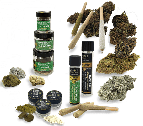 CBD American Shaman of Las Colinas Assorted Flower Products